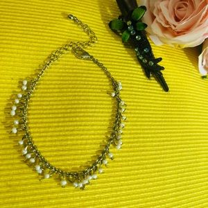 Beautiful Anklet Chain with a Butterfly Hair clip